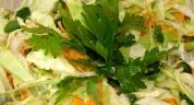 Салаты из капусты и рецепты приготовления блюд